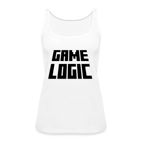 Game Logic Logo - Women's Premium Tank Top