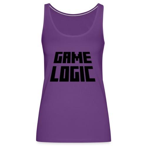 Game Logic Logo - Women's Premium Tank Top