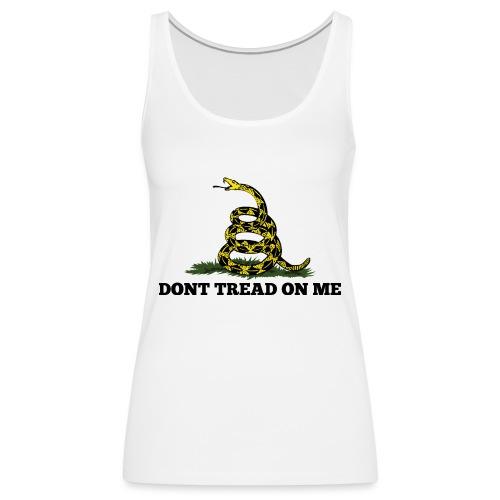 GADSDEN DONT TREAD ON ME - Women's Premium Tank Top