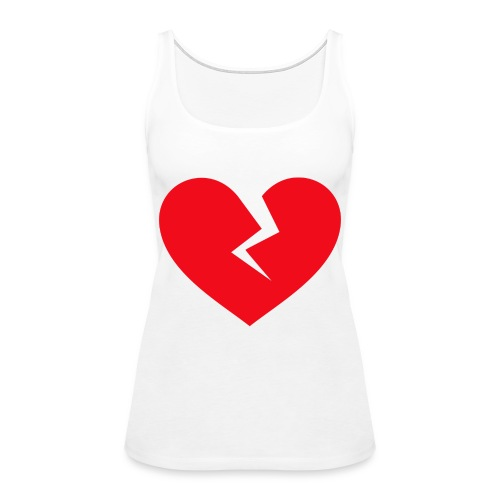 Broken Heart - Women's Premium Tank Top