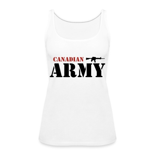 Canadian Army - Women's Premium Tank Top