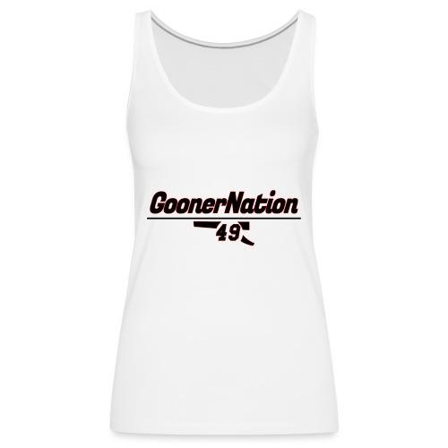 GoonerNationSpreadshirt - Women's Premium Tank Top