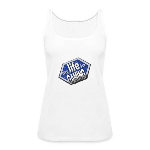 My Life In Gaming sticker - Women's Premium Tank Top