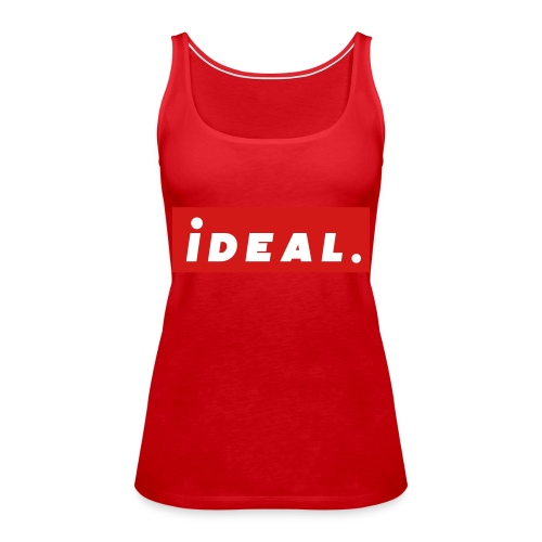 ideal Logo Red - Women's Premium Tank Top
