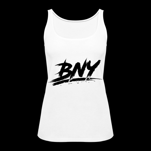 BLACK LOGO - Women's Premium Tank Top