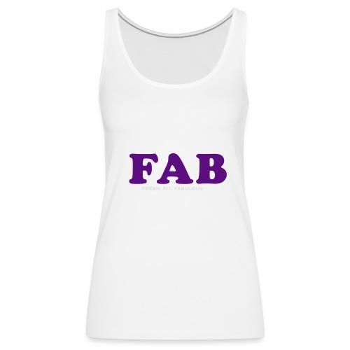 FAB Tank - Women's Premium Tank Top
