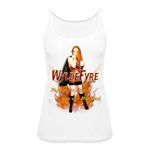 WyldeFyre (Design 2) - Women's Premium Tank Top