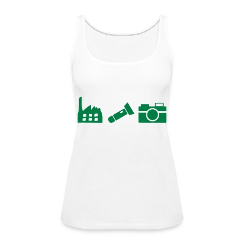 DCUE_Icons_Small - Women's Premium Tank Top