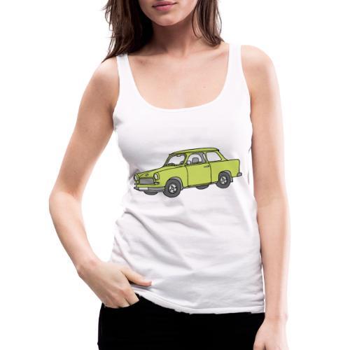 Trabant (baligreen car) - Women's Premium Tank Top
