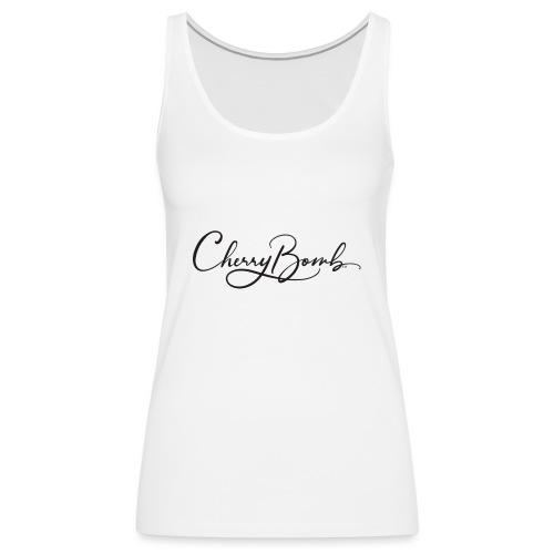 Cherry Bomb Black - Women's Premium Tank Top