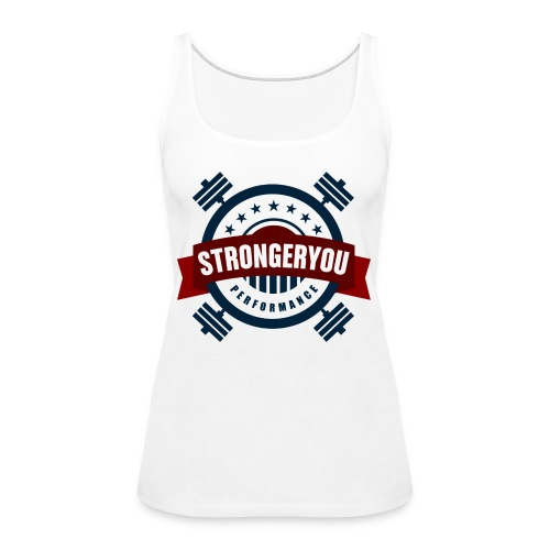 StrongerYouPersonalTraini - Women's Premium Tank Top