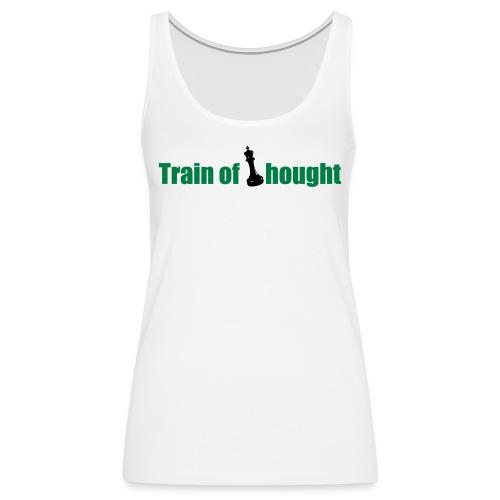 Train of Thought - Women's Premium Tank Top