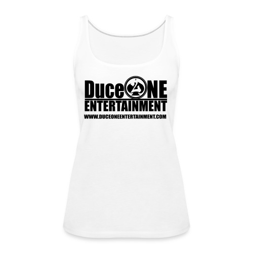 Duceoneentertainment logo - Women's Premium Tank Top
