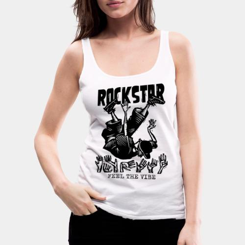 rockstar rock star - Women's Premium Tank Top