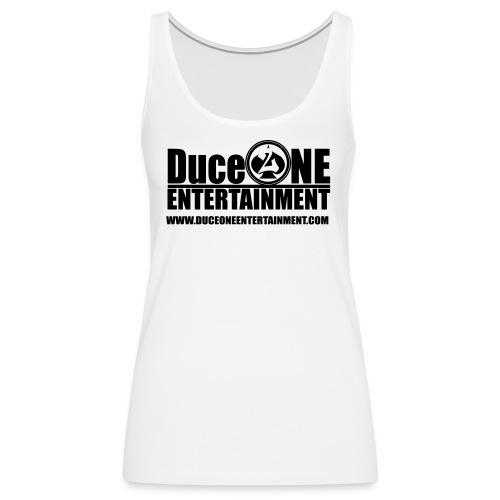 Duceoneentertainment logo - Women's Premium Tank Top