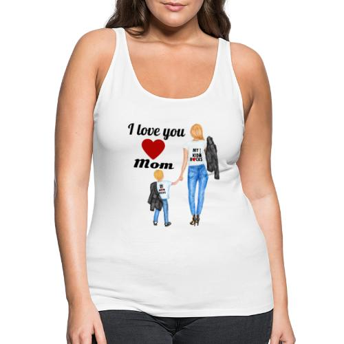 Mother's day gift from daughter, Mother's Day Gift - Women's Premium Tank Top
