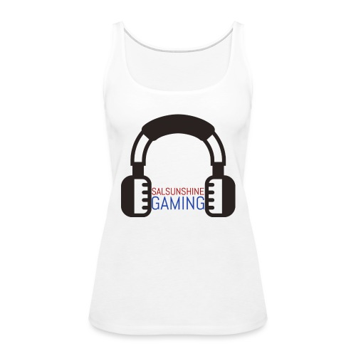 salsunshine gaming logo - Women's Premium Tank Top