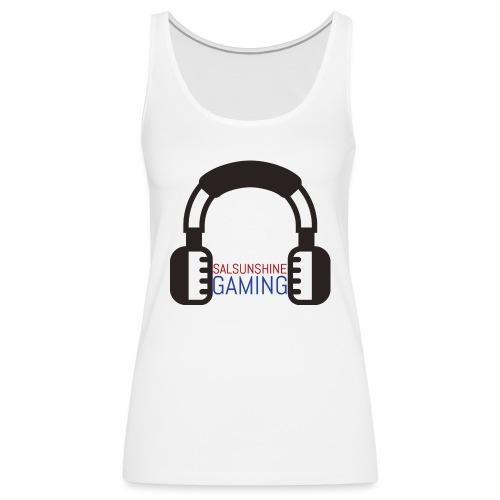 salsunshine gaming logo - Women's Premium Tank Top