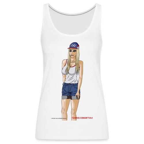 Gina Character Design - Women's Premium Tank Top