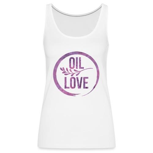 Oil Love Purple - Women's Premium Tank Top