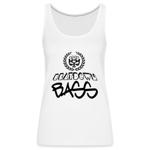 BEATDOWN BLACK LOGO - Women's Premium Tank Top