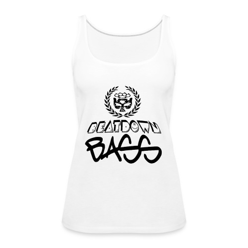 BEATDOWN BLACK LOGO - Women's Premium Tank Top