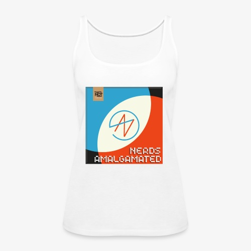 Top Shelf Nerds Cover - Women's Premium Tank Top