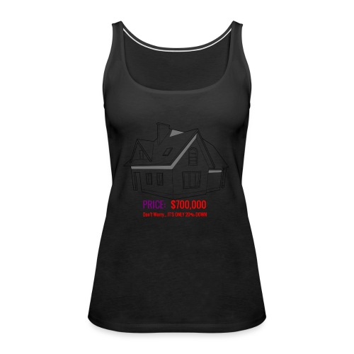 Fannie & Freddie Joke - Women's Premium Tank Top