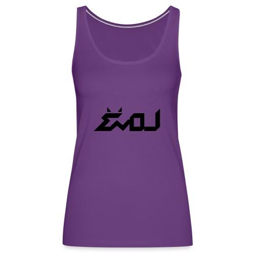 evol logo - Women's Premium Tank Top