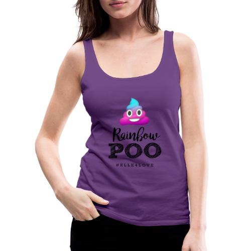 Rainbow Poo - Women's Premium Tank Top