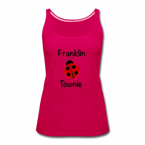 Franklin Townie Ladybug - Women's Premium Tank Top