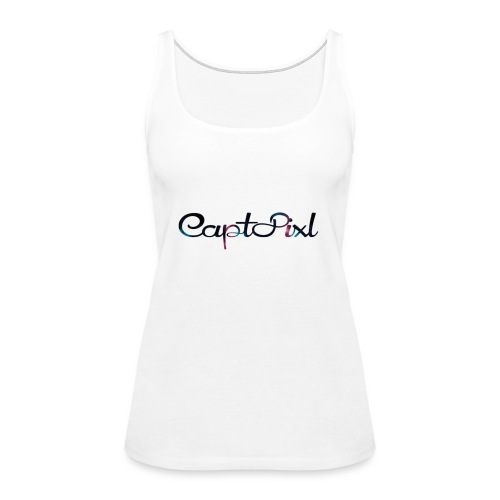 My YouTube Watermark - Women's Premium Tank Top