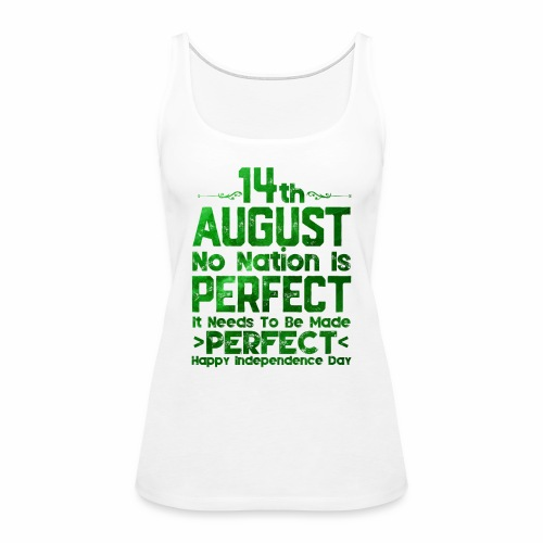 14th August Independence Day - Women's Premium Tank Top