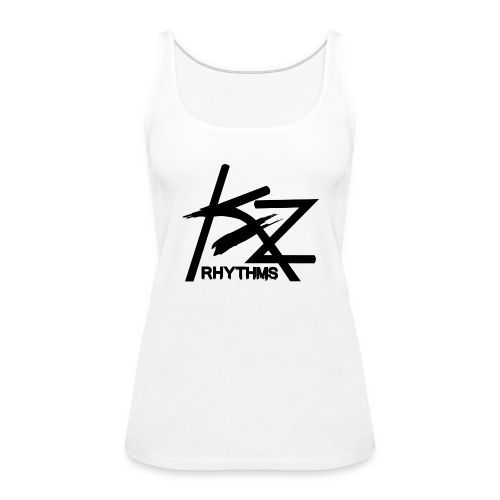 KZ Black Logo - Women's Premium Tank Top