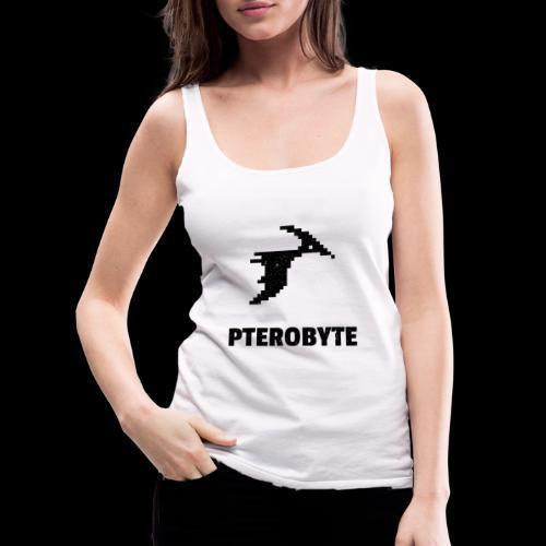 Pterobyte | Epic Digital Dinosaur - Women's Premium Tank Top