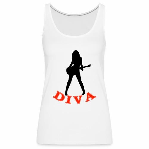 Rock Star Diva - Women's Premium Tank Top