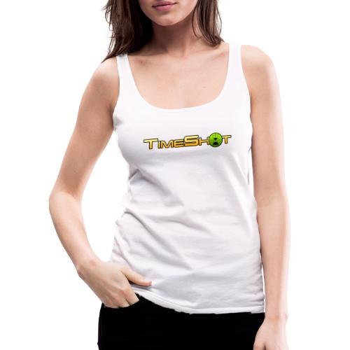 TimeShot Logo Text - Women's Premium Tank Top