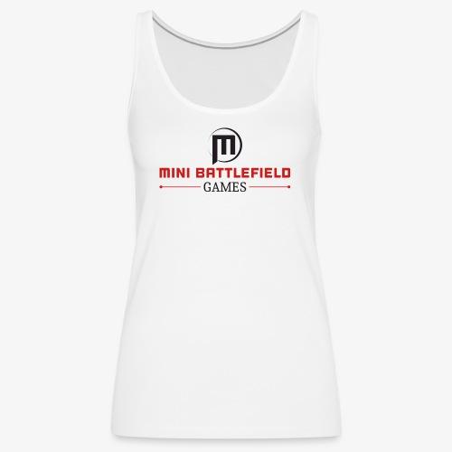 Mini Battlefield Games Logo - Women's Premium Tank Top