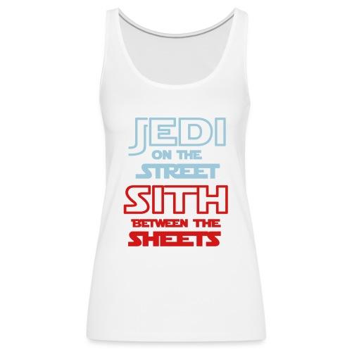 Jedi Sith Awesome Shirt - Women's Premium Tank Top