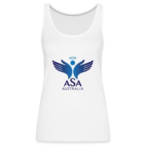 3459 Angelman Logo AUSTRALIA FA CMYK - Women's Premium Tank Top