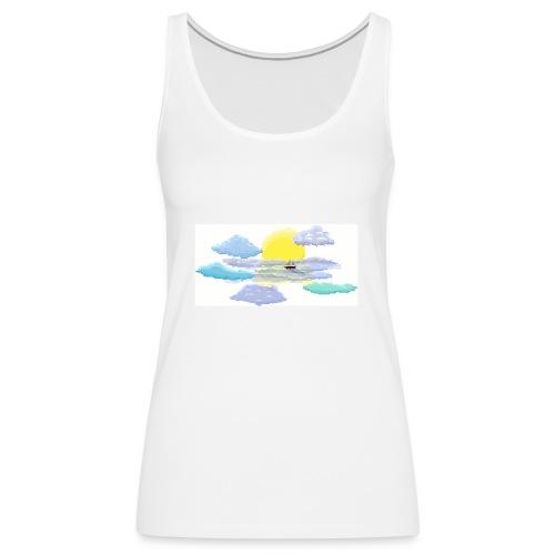 Sea of Clouds - Women's Premium Tank Top