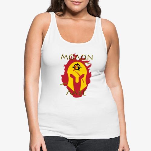 Molon Labe - Anarchist's Edition - Women's Premium Tank Top