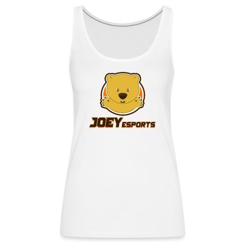 Joey eSports Text Logo - Women's Premium Tank Top