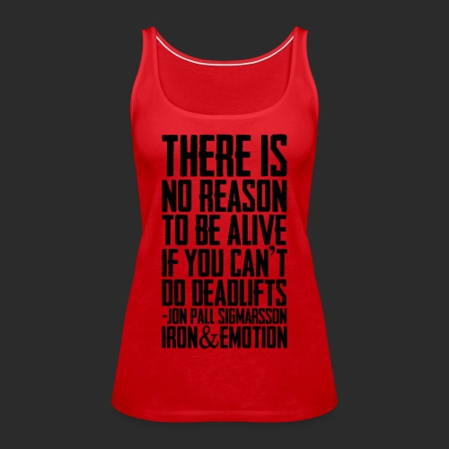 IRON&EMOTION's - Women's Premium Tank Top