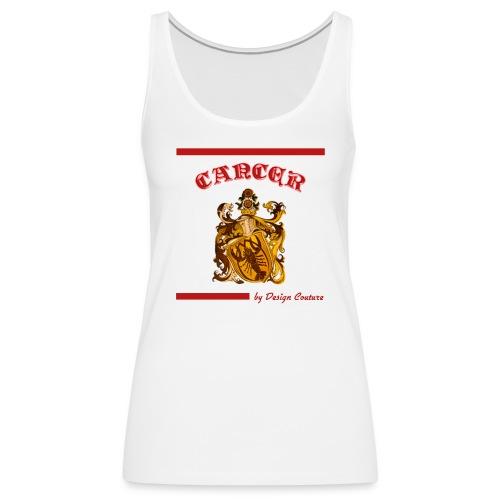 CANCER RED - Women's Premium Tank Top