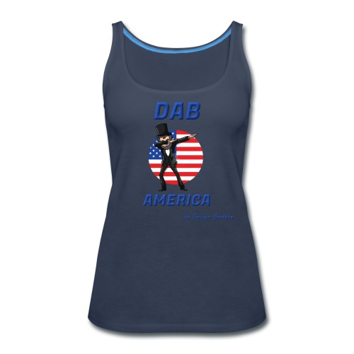 DAB AMERICA BLUE - Women's Premium Tank Top