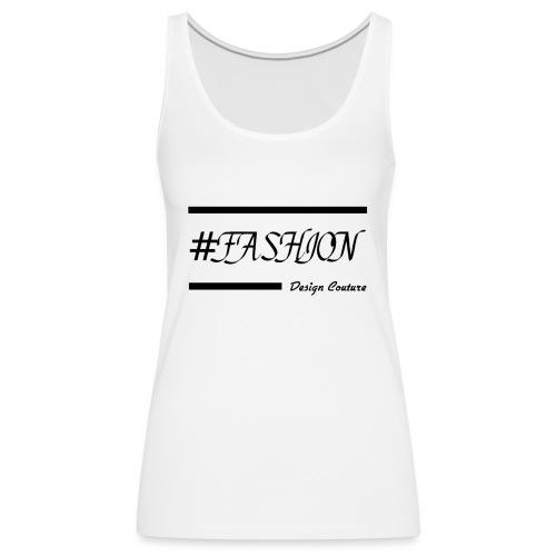 FASHION BLACK - Women's Premium Tank Top