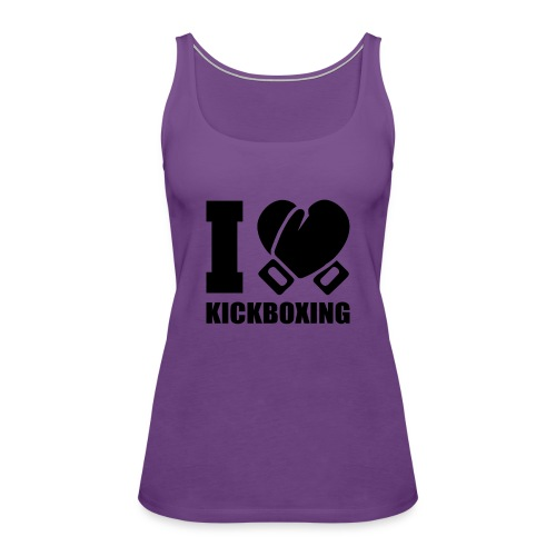 I Love Kickboxing - Women's Premium Tank Top