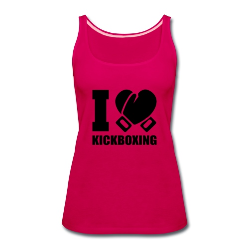 I Love Kickboxing - Women's Premium Tank Top
