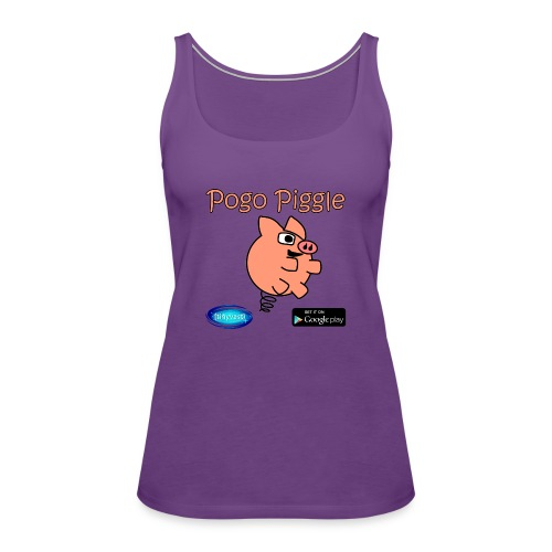 Pogo Piggle - Women's Premium Tank Top